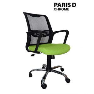 Kursi Kantor Uno Paris D Chrome