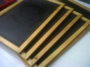 Blackboard Cafe Hanako 40 x 100 Gantung