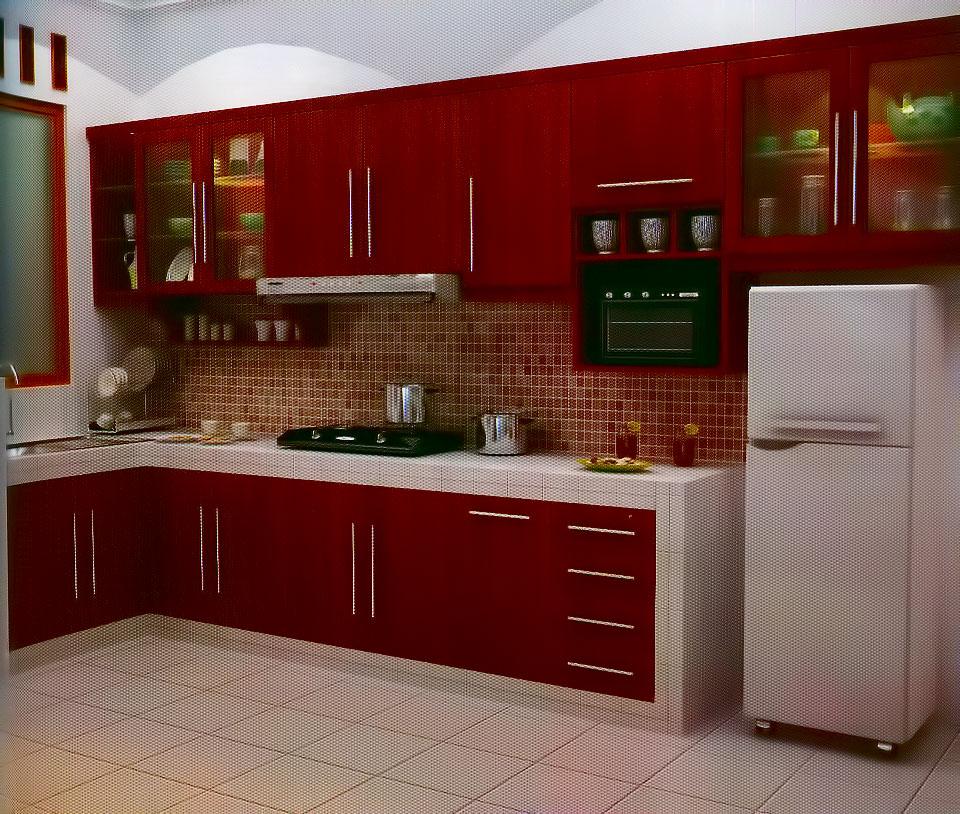 Jasa pembuatan kitchen set di Gading Serpong