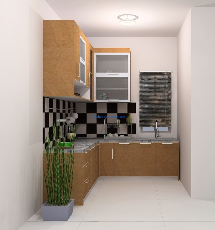 Kitchen Set Mnr 014 Kitchen Set Minimalis Untuk Apartment