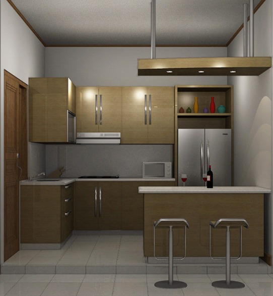 pembuatan kitchen set murah minimalis di bsd