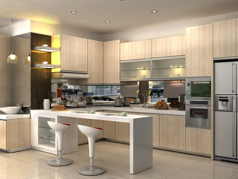 Jasa Pembuatan Kitchen Set Di Jakarta Selatan Manarafurniture Com