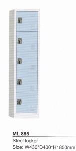 Loker 5 pintu Modera ML 885
