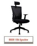 Kursi Kantor Carrera Mesh 106 Synchro