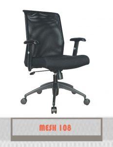 Kursi Kantor Carrera Mesh 108 TC