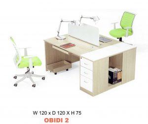 Meja kantor 2 Staff Carrera Obidi 2