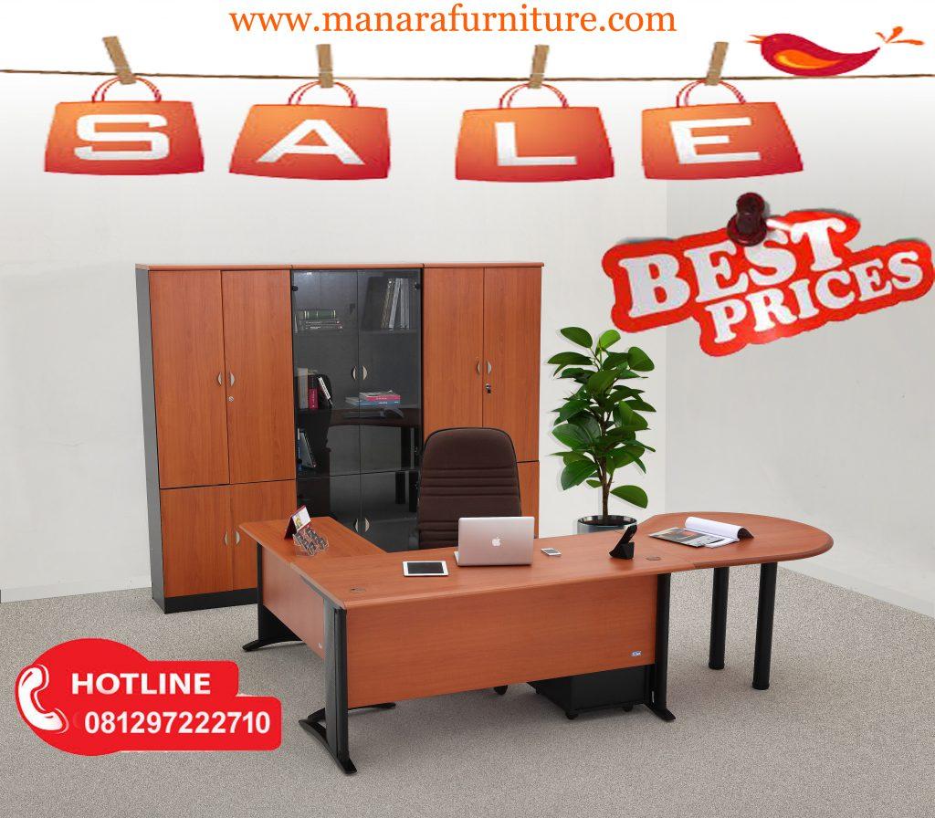 Jual meja kantor manager murah