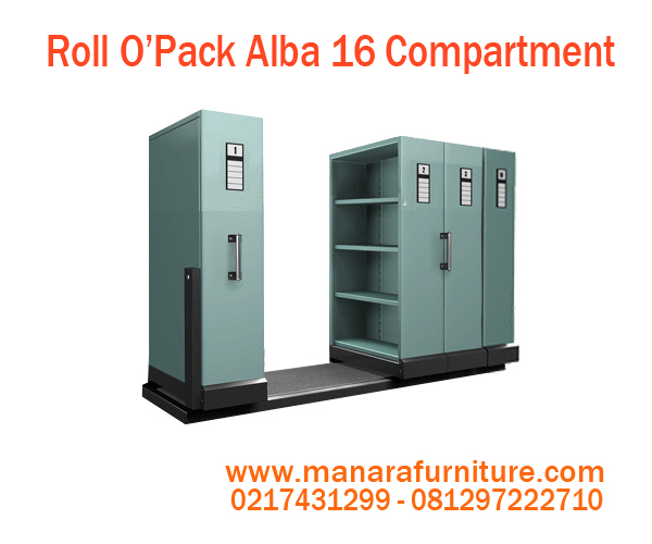 Harga Roll O'Opak Alba 16 Compartment