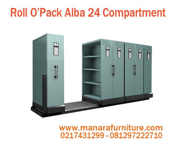 Harga Roll O'Opak Alba 24 Compartment