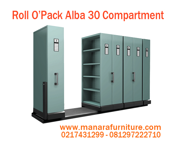 Harga Roll O'Opak Alba 30 Compartment