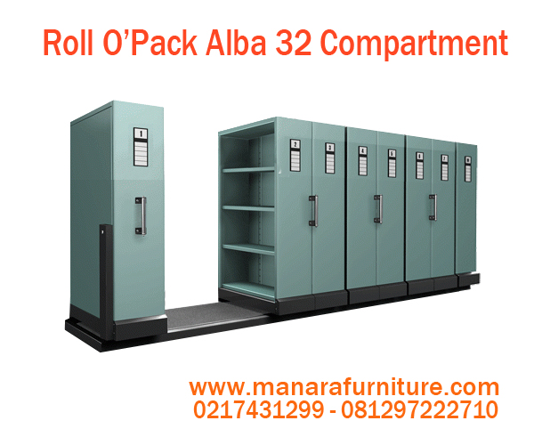 Harga Roll O'pak Alba 32 Compartment