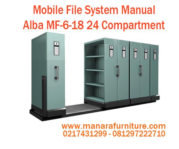 Jual Mobile File System Manual Alba MF-6-18 harga murah