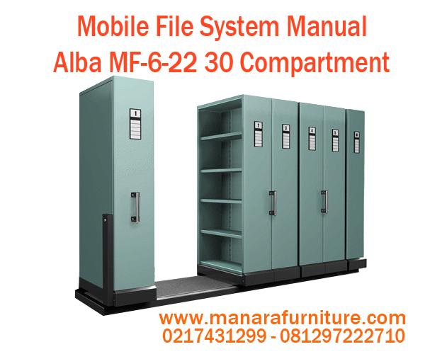 Jual Mobile File System Manual Alba MF-6-22 Harga Murah