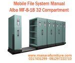 Harga Mobile File System Alba 32 Compartment