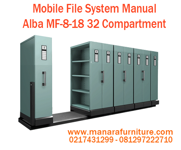 Jual Mobile File System Manual Alba MF-8-18 Harga Murah