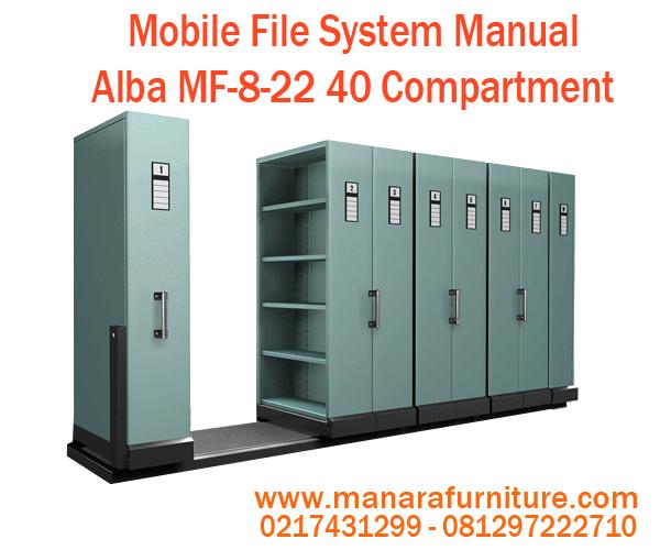 Jual Mobile File System Manual Alba MF-8-22 Harga Murah