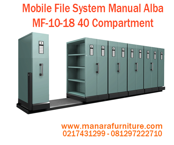 Jual Mobile file Alba MF-10-18 40 Compartment