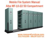 Harga Mobile File System Alba 50 Compartment