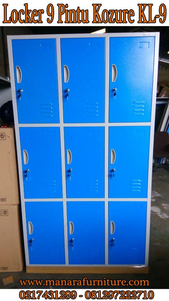 Harga Locker 9 Pintu KOZURE-KL-9