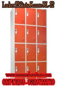 Harga locker 12 pintu Kozure KL-12