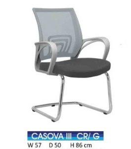 Kursi Indachi Casova III CR Grey