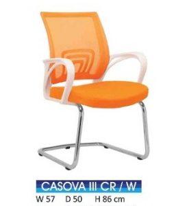 Kursi Indachi Casova III CR White