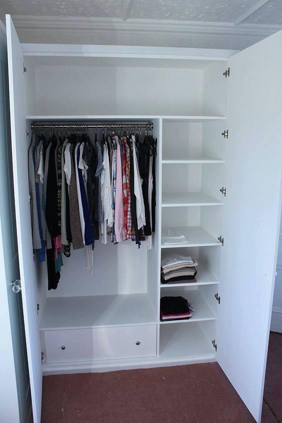 lemari pakaian minimalis murah