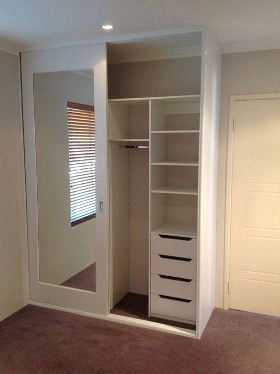 lemari pakaian model minimalis
