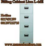Harga filling cabinet 4 laci lion L44E murah
