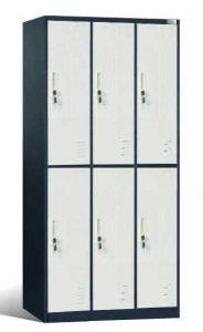 Locker 6 Pintu Hanako ML-6