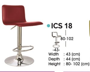 Kursi Bar Stool Ichiko ICS-18