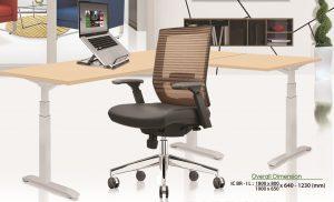 Meja kantor Ichiko IC BR-1 L