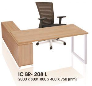 Meja kantor Ichiko IC BR-208 L