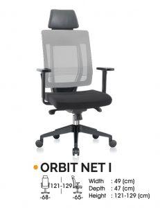Kursi Kantor Ichiko Orbit Net I