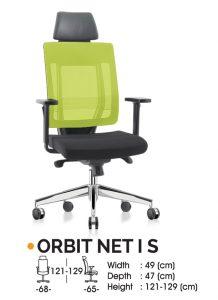 Kursi Kantor Ichiko Orbit Net I S