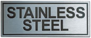 Jasa Pembuatan Papan Nama Etching stainlesssteel