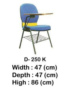 kursi kuliah indachi type d- 250 k