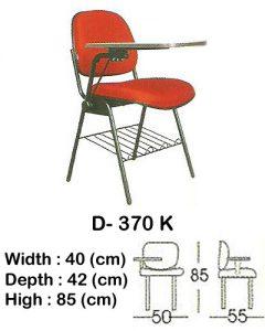 kursi kuliah indachi type d- 370 k