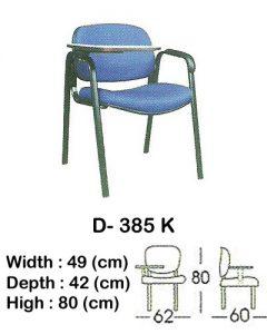 kursi kuliah indachi type d- 385 k