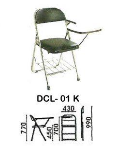 kursi kuliah indachi type dcl- 01 k