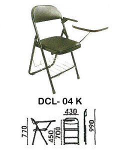 kursi kuliah indachi type dcl- 04 k