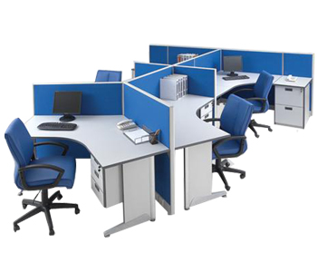 partisi kantor modera workstation 5-series workstation 5