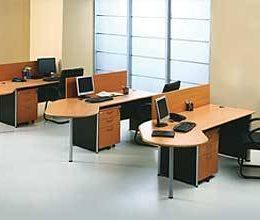 Jual Meja Kantor Modera di jakarta barat