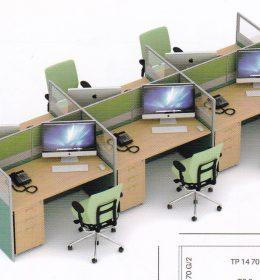 Partisi Kantor uno 03 Series Slim 6 Staff