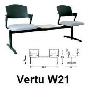 Jual-Savello - Kursi Tunggu type VERTU W21-Murah
