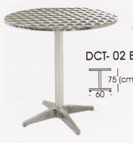 meja bulat indachi DCT-02 B
