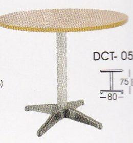 meja bulat indachi DCT-05