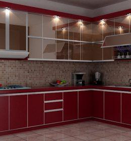 Jasa Pembuatan Kitchen Set murah di rempoa