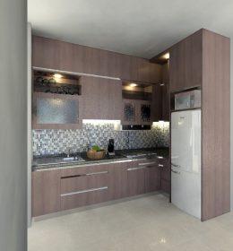 Jasa pembuatan kitchen set apartment