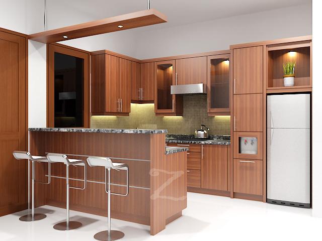 Jual Kitchen set minimalis murah di ciputat